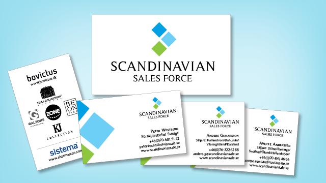 Scandinavian sales force